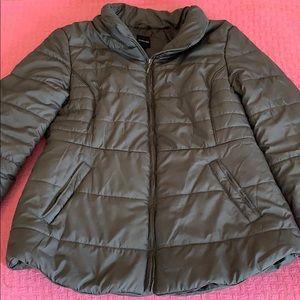 Rampage Gray Puffer Jacket Women's XL